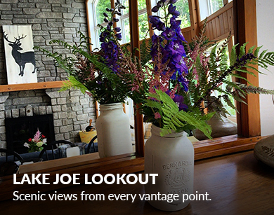 Lake Joe Lookout - Muskoka Cottages by Marlene
