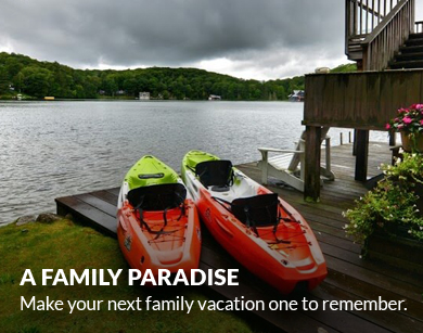 A Family Paradise. Make your next family vacation one to remember.