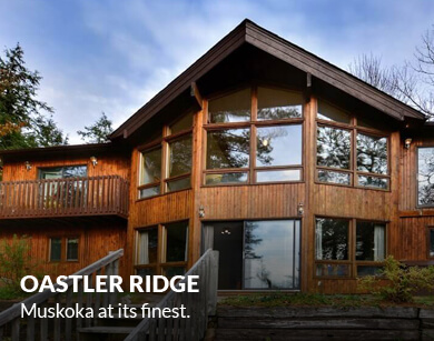 Oastler Ridge. Muskoka at its finest.