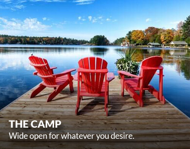The Camp. Wide open for whatever you desire.
