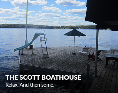 muskokacottagesbymarlene_The Scott Boathouse